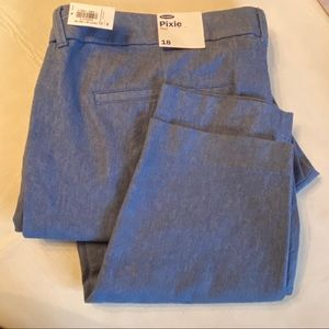 NWT Old Navy Pixie Ankle Pant - sz. 18